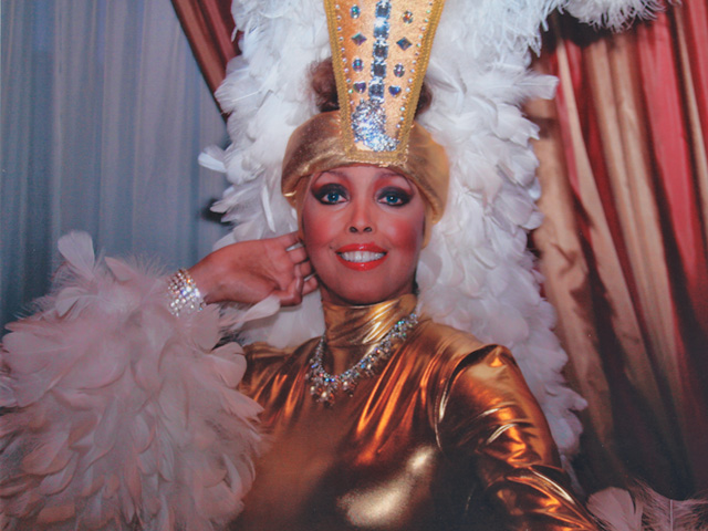Jakki Ford Posing in Josephine Baker-style Costume 3