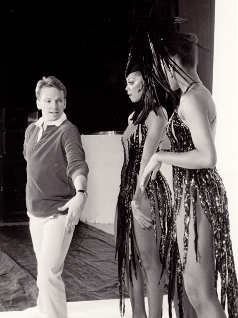 Jakki Ford Backstage at the Jubilee Show with Bob Mackie 2