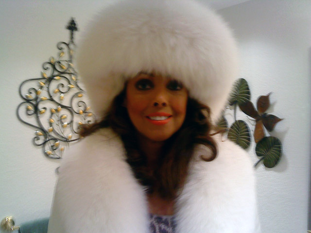 Jakki Ford My White Christmas Fox Outfit