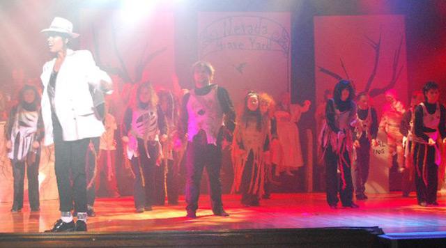 Jakki Ford Sheep Dip 46 Performance of MJ's Thriller 2