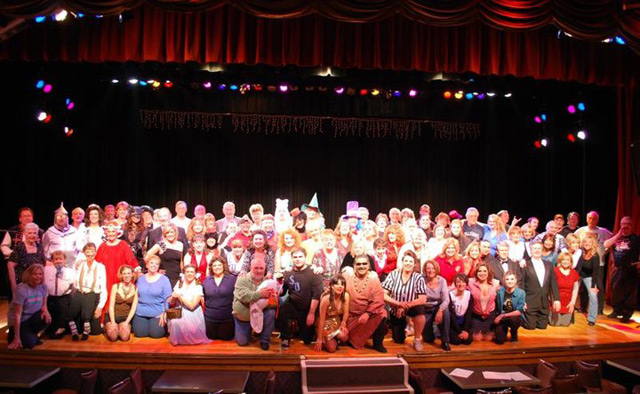 Jakki Ford Sheep Dip 47 On Stage with Cast