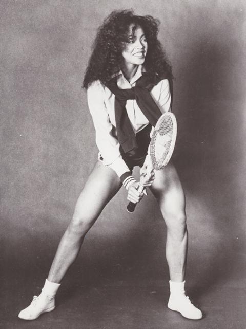 Jakki Ford Serena Williams Pose