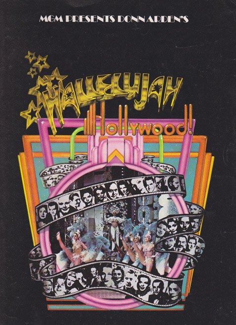 Jakki Ford Hallelujah Hollywood Showroom Program Front