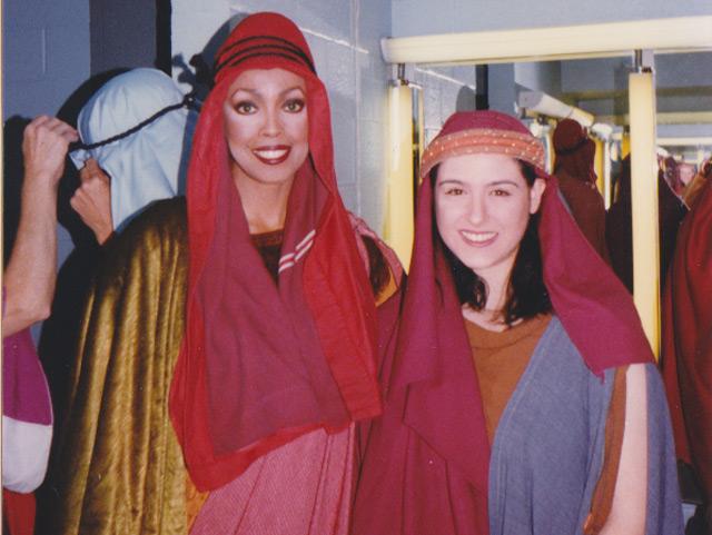 Jakki Ford Samson and Delilah Backstage 1