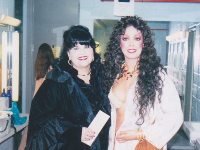 Jakki Ford Samson and Delilah with Kathleen Kimmel