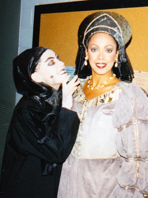 Jakki Ford Macbeth with the Witch
