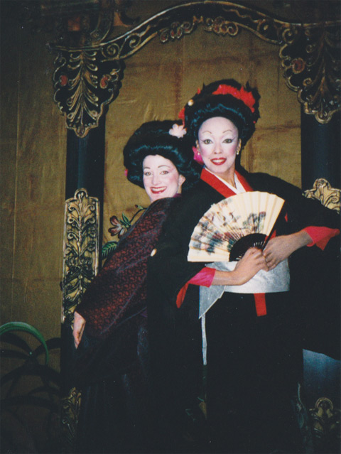Jakki Ford The Mikado with Fellow Soprano