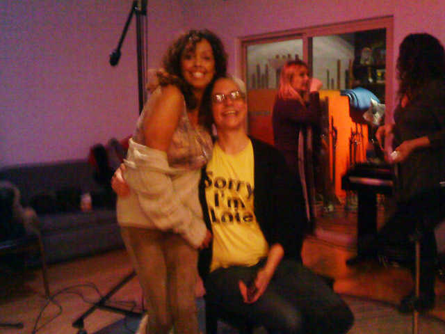 Jakki Ford Michael Gott in the Studio