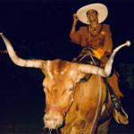 Jakki Ford Bullriding at Nevada State Fair
