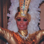Jakki Ford Posing in Josephine Baker-style Costume 1