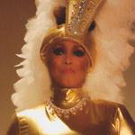 Jakki Ford Posing in Josephine Baker-style Costume 4