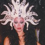 Jakki Ford Hello Hollywood Hello Acid Queen Black Headpiece