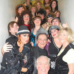 Jakki Ford Sheep Dip 46 Backstage with Cast