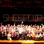 Jakki Ford Sheep Dip 46 On Stage with Cast