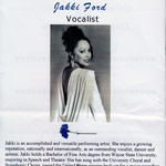 Jakki Ford Evening Gown Program Bio