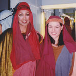 Jakki Ford Samson and Delilah Backstage 1